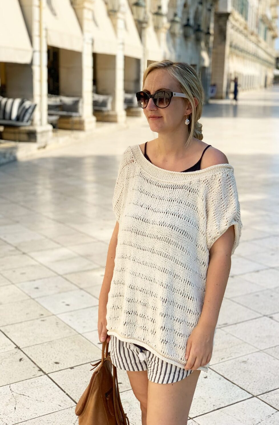 Drop Stitch Knit Top Pattern