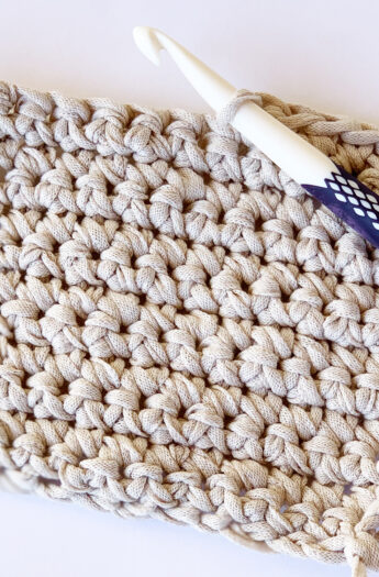 How To Single Crochet {Step By Step}