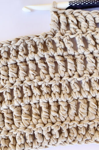 How To Treble Crochet {Step By Step}
