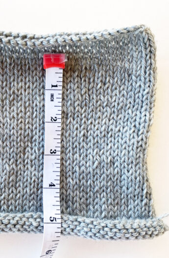 How To Measure Gauge In Knitting
