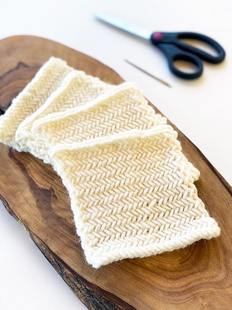 herringbone knit