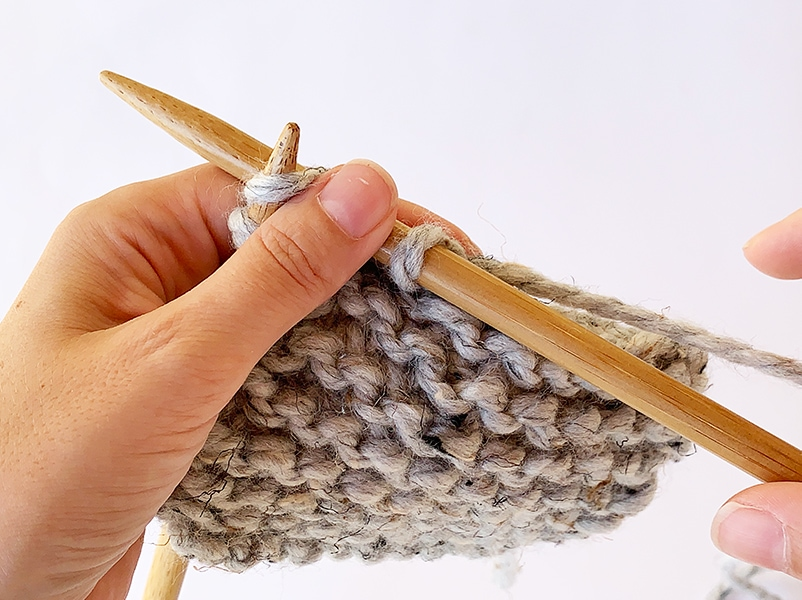 casting off knitting with super bulky yarn