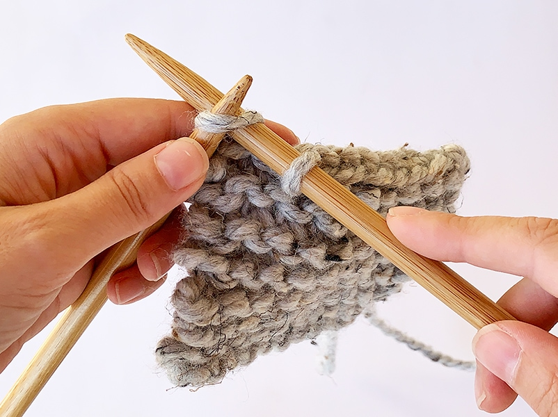 binding off stitches in knitting