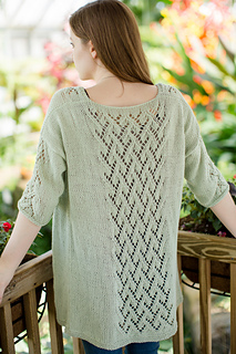 Ivy Cardigan pattern by The Blue Mouse