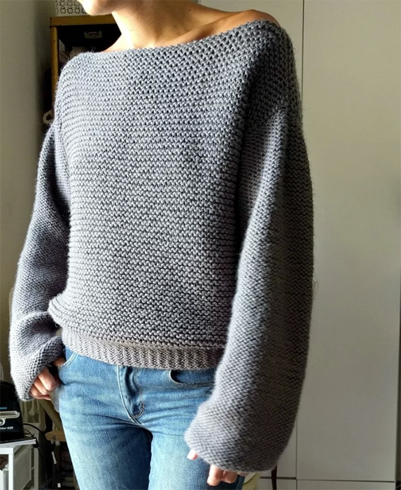 Short Sleeved Sweater Pattern
