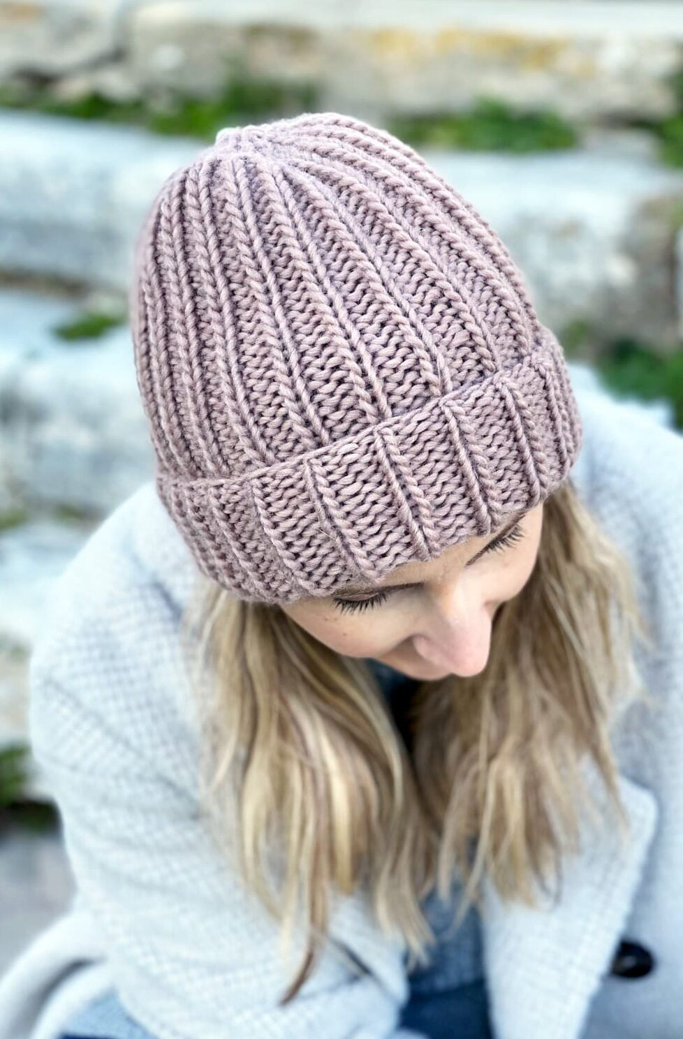 How To Knit A Hat - With Straight Needles