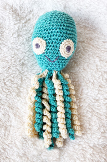 Free Crochet Octopus Pattern {+ Video Tutorial}