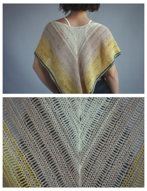 lace weight crochet shawl