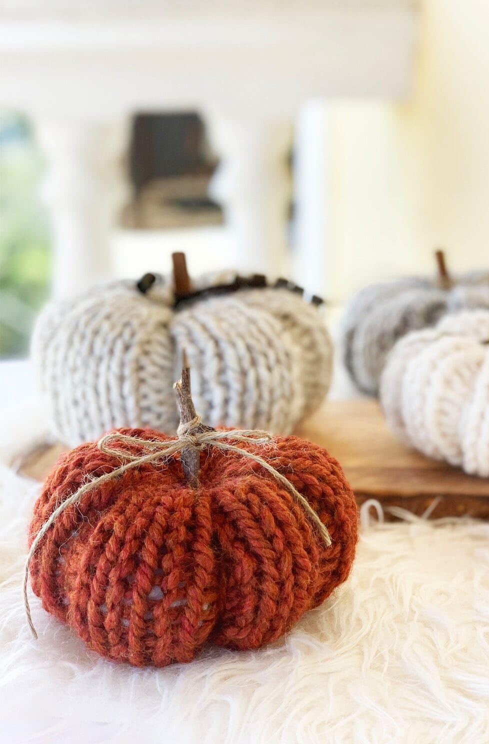 How To Knit A Pumpkin {Easy And Quick}