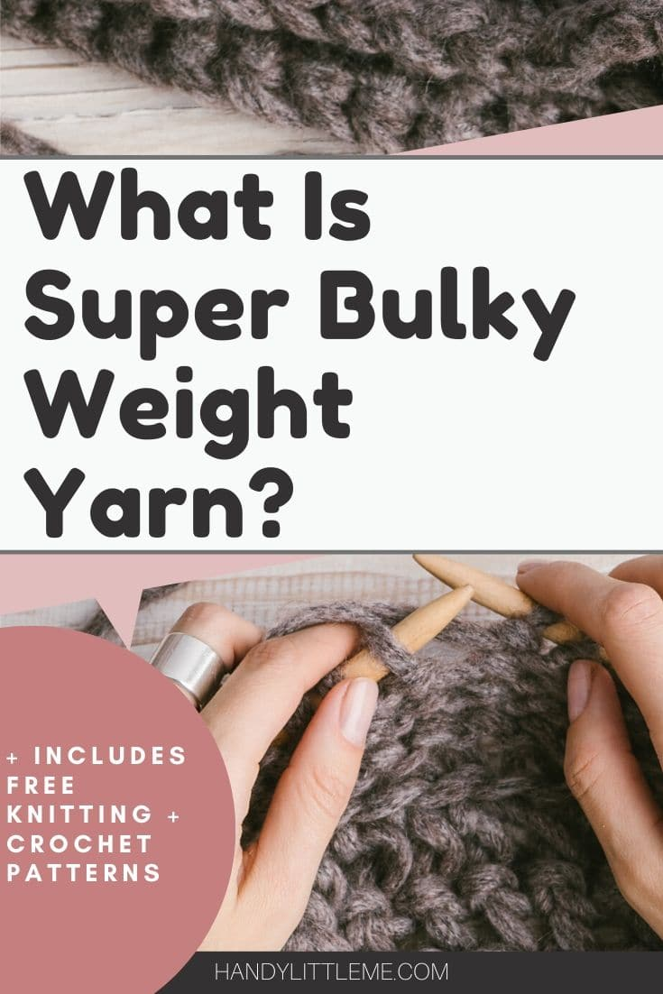 what is super bulky weight yarn