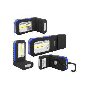 Töökoha valgusti Tiross 3W COB + 3 LED