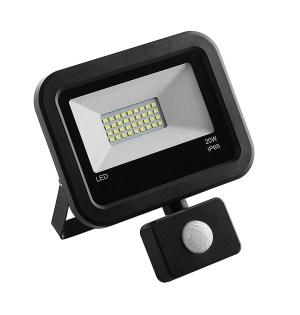 LED prožektor Tesatek liikumisanduriga 20W, must