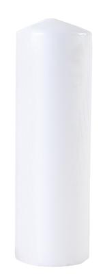 Küünal 8x25cm 105h valge