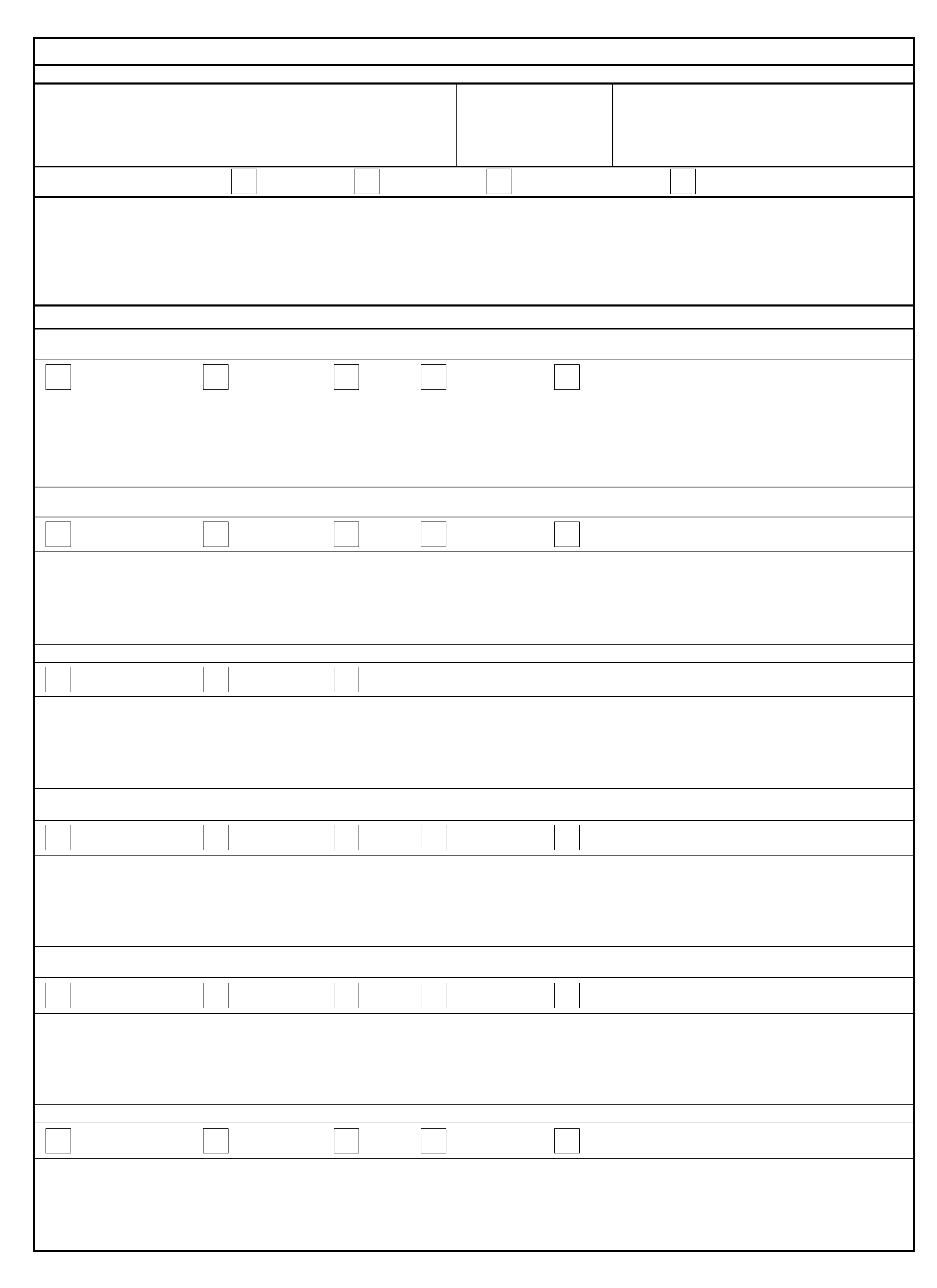 Performance Feedback Worksheet