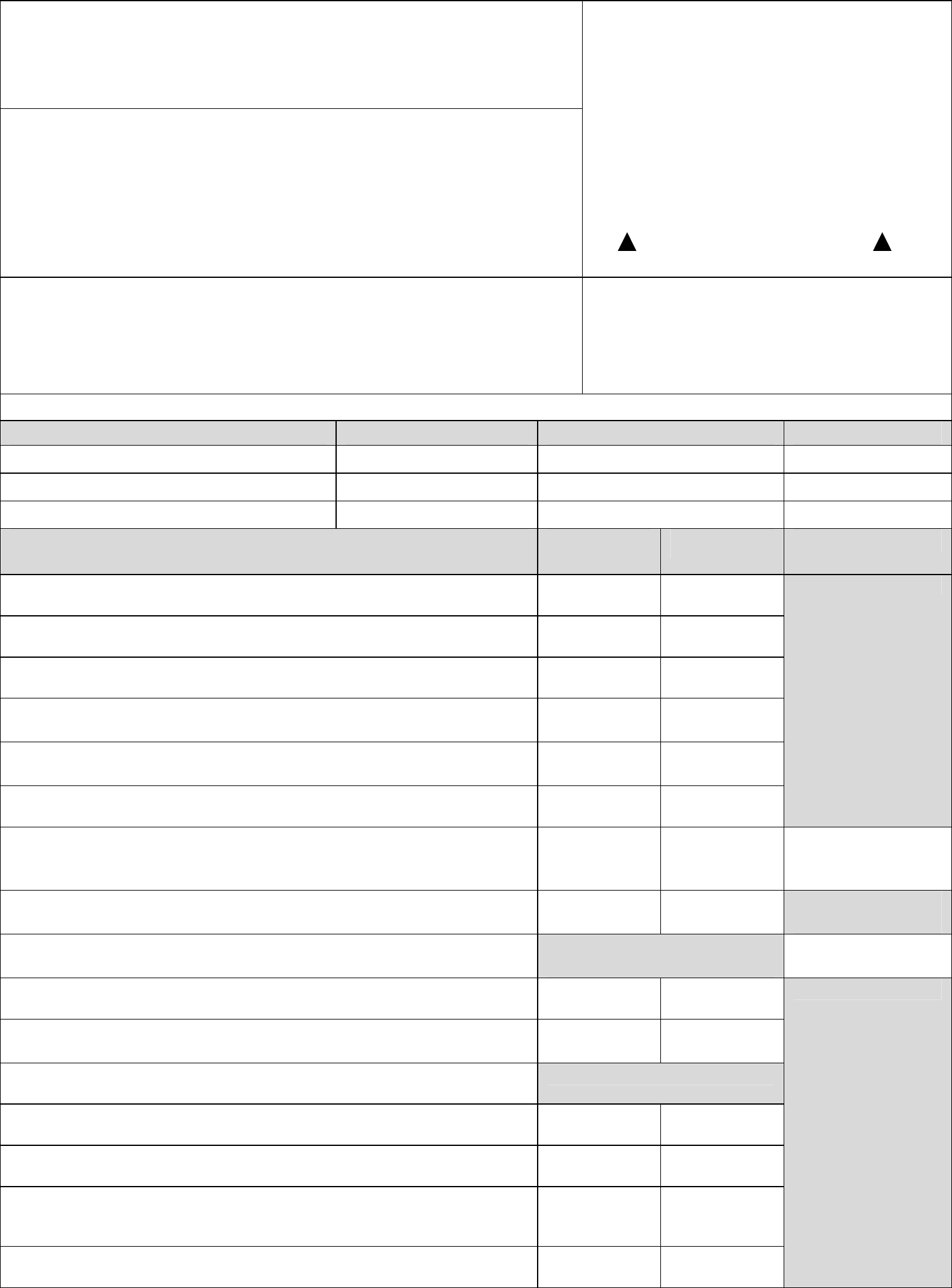 Sole Custody Worksheet