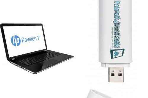 "Notebook 17,3"" HP Pavilion + AllNet Flat 44.99€ mtl"