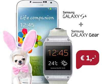 Galaxy Gear V700 + S4 + 60 Min/SMS + Internet 14.95€ mtl