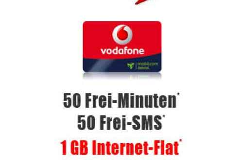 Vodafone Smart Surf + 1 GB Daten 2.99€ mtl