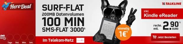 Talkline Telekom Talk Easy 100 Special 2.90€ mtl