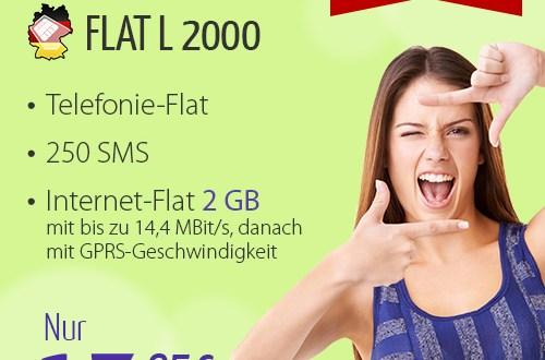 winSIM FLAT L 1000 - nur 14.95€ mtl
