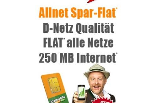 Telefonie Allnet Flat D1 Netz nur 4.85€ mtl