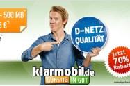 500 MB Internet + 100 Min + 100 SMS nur 2,95€ mtl.
