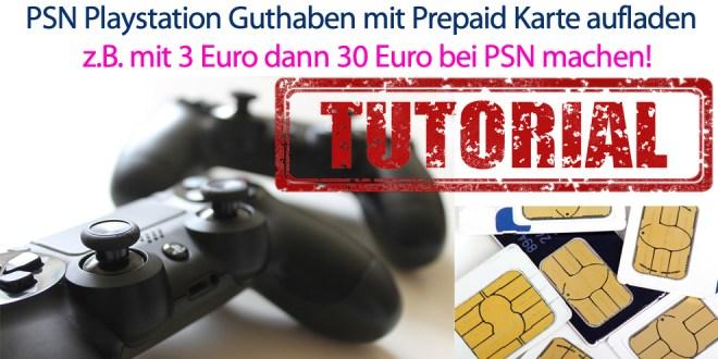 Playstation Karte.Psn Playstation Guthaben Mit Prepaid Karte Aufladen Handytariftipp