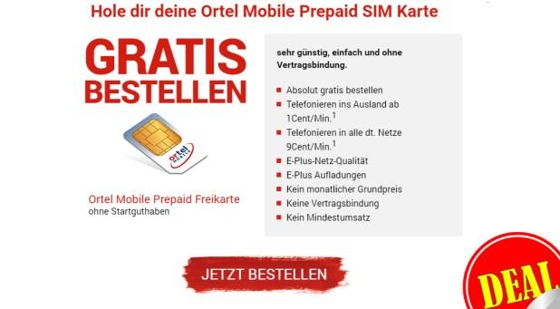 Telefonieren ins Ausland ab 1Cent/Min - Prepaid Freikarte!