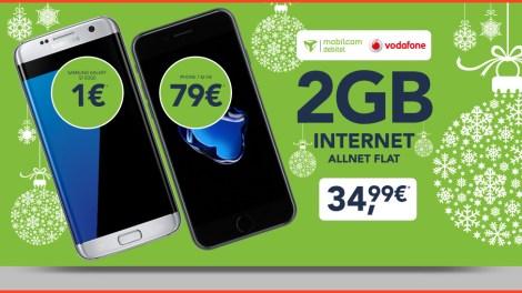 Apple iPhone 7 + Allnet Flat + 2 GB nur 34,99€ mtl.