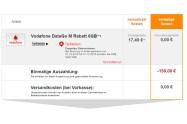 Vodafone DataGo M 6GB LTE mit 150€ Auszahlung eff. nur 11,24€ mtl.