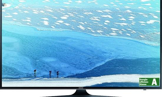 55 Zoll UHD-TV Samsung + Allnet + 2GB nur 39,99€ mtl.