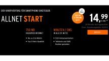 OTELO Allnet Start mit 750MB nur 14,99€ mtl.