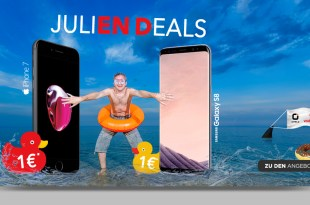 8GB Allnet mit Samsung Galaxy S8 nur 29,99€ mtl.