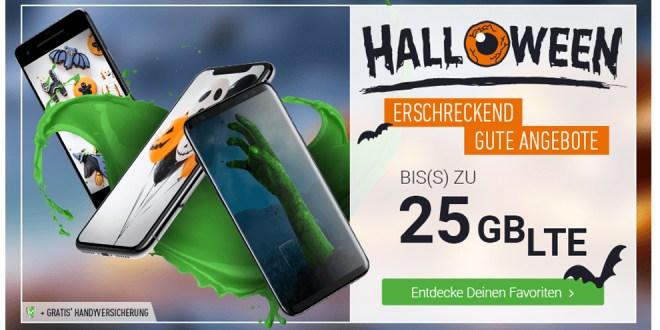 Halloween Spezials mit bis zu 25GB LTE