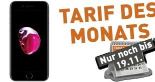 iPhone 7 mit 8GB Internet nur 29,99€ mtl.