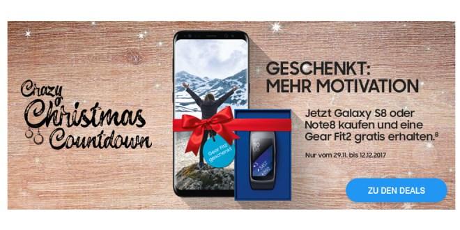 Galaxy S8 & Gear Fit2 mit 6GB Allnet nur 29,99€ mtl.