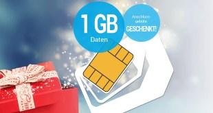 1 GB Internet mit Allnet im Telekom Netz nur 9,99€ mtl.