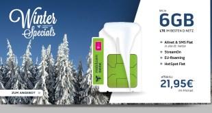 6GB LTE Magenta Mobil M Young Telekom eff. 21,95€ mtl.