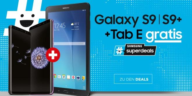 Otelo 10 GB LTE mit Samsung S9+ +Tab E