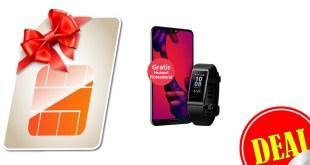 Huawei P20 Pro + Band 3 Pro + 10GB LTE nur 34,99€