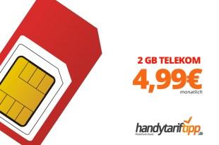 2 GB Allnet Telekom eff. 4,99€