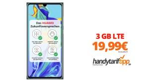 HUAWEI P30 mit 3 GB LTE nur 19,99€