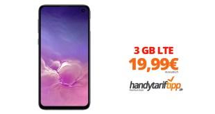 Galaxy S10e mit 3 GB LTE nur 19,99€
