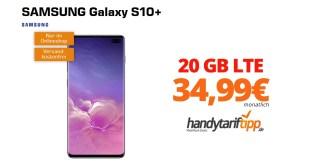 Galaxy S10+ mit 20GB LTE nur 34,99€