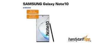 Galaxy Note10 mit 10GB LTE Vodafone nur 36,99€