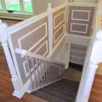 Staircase Remodel in Wallingford CT Ranch Style Home