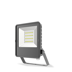 HANECO STAX 10W LED ULTRA SLIM FLOODLIGHT BLACK 5000K