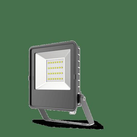 HANECO STAX 10W LED ULTRA SLIM FLOODLIGHT BLACK 5000K