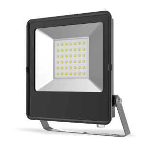 HANECO STAX 30W LED ULTRA SLIM FLOODLIGHT BLACK 5000K