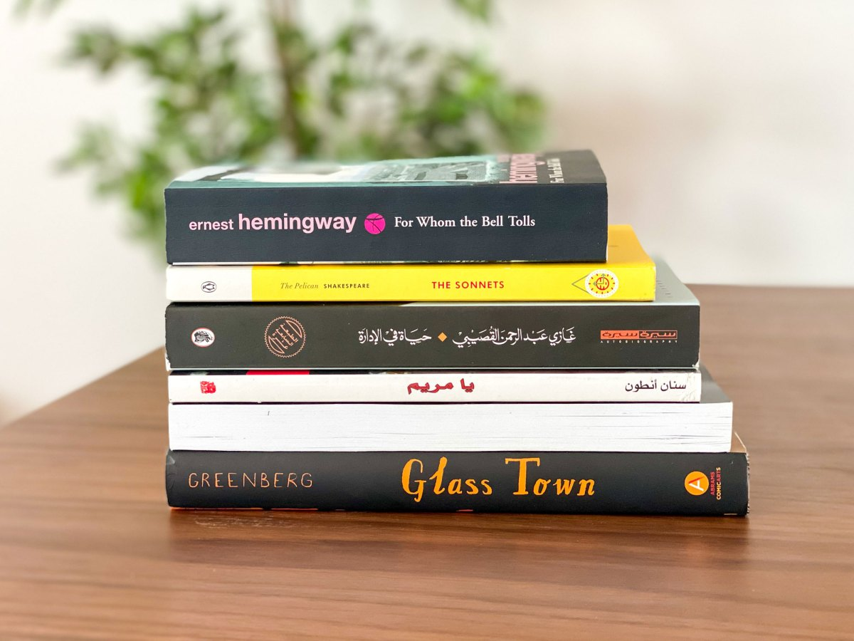 Stack of books I read in May 2020